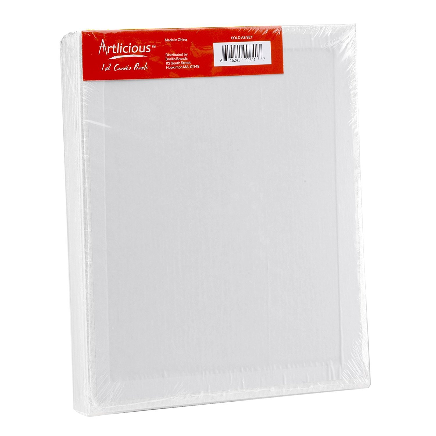 Artlicious Canvas Panels 48 Pack - 8''X10'' Super Value Pack- Artist Canvas Boards for Painting by Artlicious (Image #2)
