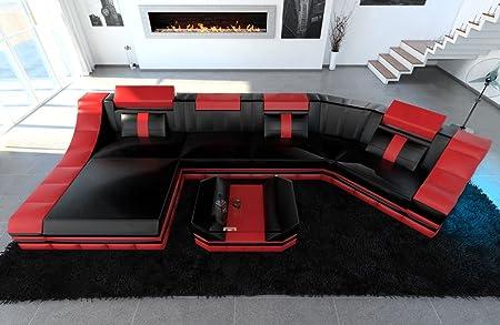 Divano Pelle Di Bufalo Rosso.Pelle Interni Casa Turino C Formina Rosso Nero Divano Divano In