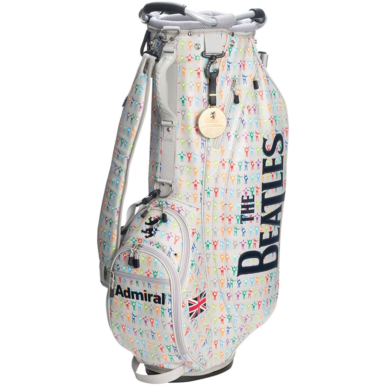 アドミラルゴルフ メンズ ビートルズ コラボモデル THE BEATLES スタンドバッグ+ヘッドカバーセット ADMG7SC5 (19グレー) B01NCZCZYD