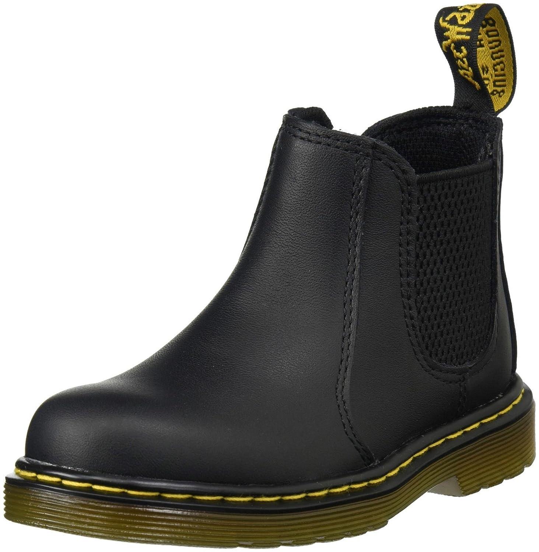 0d7748e57ab57 Dr. Martens Unisex Kids' Banzai Softy T Black Chelsea Boots: Amazon ...