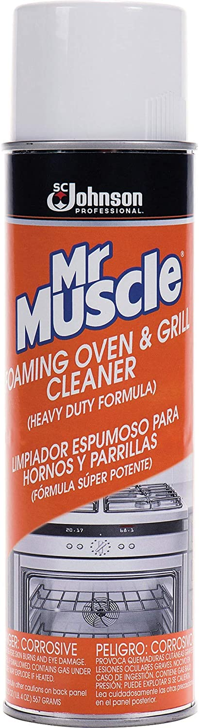 Oven/Grill Cleaner, Solvent Scent, 20 oz, Can, 6/Carton