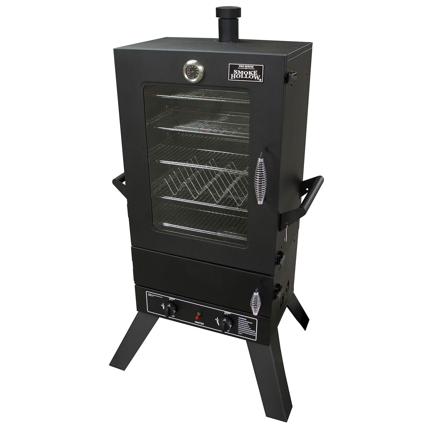 Smoke Hollow 44241GW 44-Inch 2-Door Propane Gas Smoker with Window by Smoke Hollow