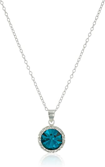 Accents Hallmark birthstone necklace Sept Sapphire