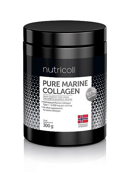 Polvo de Colágeno Marino Noruego Puro | De pescado sostenible capturado en libertad del Océano Atlántico