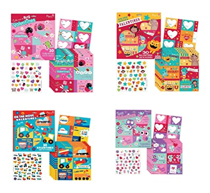 Amazon Com B There School Valentine Day Value Pack Featuring 120