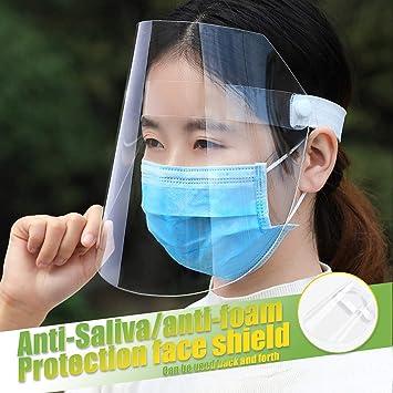 2 PCS Anti-fog Empty Top Cap Full Face Splash proof Face Protective shield Hat X
