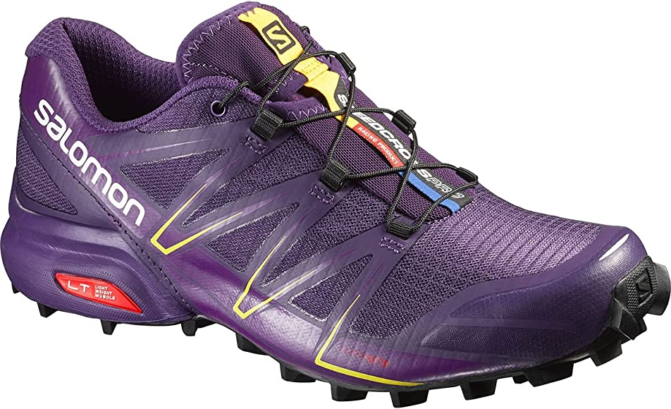 Salomon L38309000, Zapatillas de Trail Running para Mujer, Morado (Cosmic Purple/Passion Purple/Black), 41 1/3 EU: Amazon.es: Zapatos y complementos