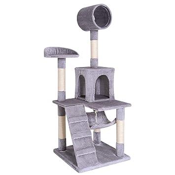 Amazon.com: dibea centro de actividad rascador para gatos ...