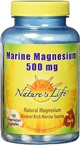 Nature's Life Marine Magnesium, 100 Count