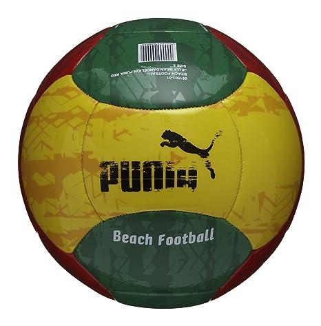 PUMA Balón de fútbol Playa, Amazon-Dandelion-Rojo, 5: Amazon.es ...