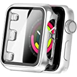 Secbolt 42mm Case Compatible Apple Watch Series 1 Series 2 Series 3 with Built in Tempered Glass Screen Protector- All Around