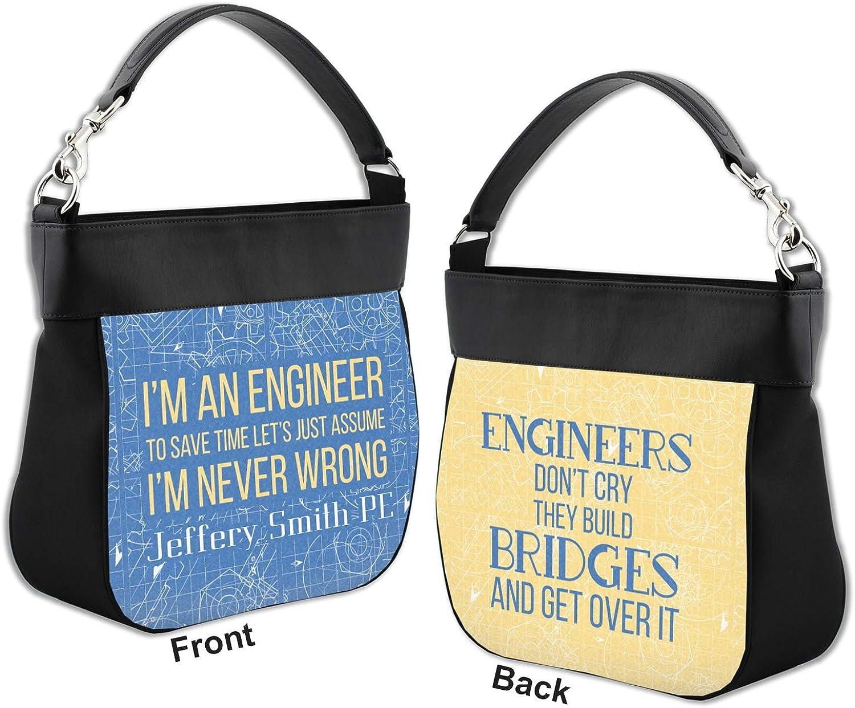 Im an Engineer Never Wrong Womens Canvas Hobo Handbags Shoulder Bag Tote Bag