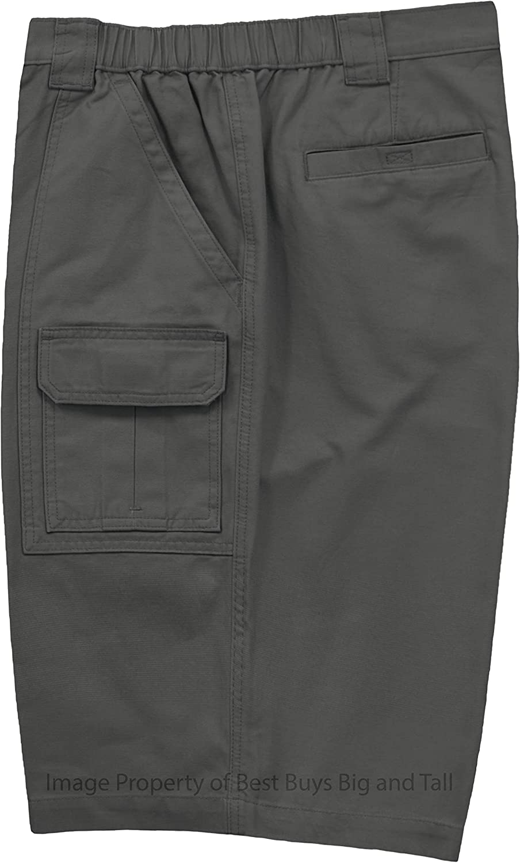 Savane Big Mens Casual Shorts Expandable Waist