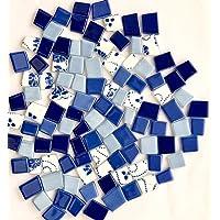 Sai Mosaic Art Pastel Mix Tumble Dark Blue