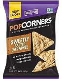 POPCORNERS Sweetly Salted Caramel, Popped Corn Snacks, 3oz (Pack of 16)