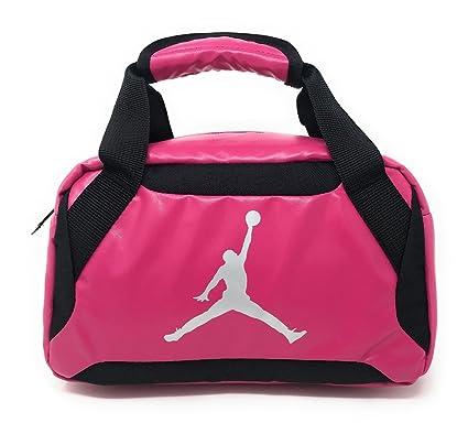 ... Nike Jumpman Premium Vivid PinkBlackMetallic Silver Lunch Tote newest  4fe5d 1e7b9  NWT NIKE JORDAN Jumpman Backpack Black ... 8b951ee268408