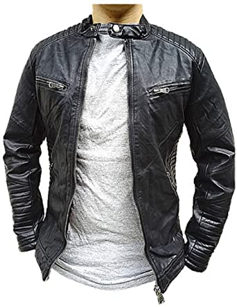 Veste simili cuir homme amazon
