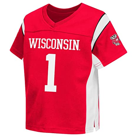 f356c229c25d Amazon.com   Colosseum Wisconsin Official Kids Jersey   Sports ...