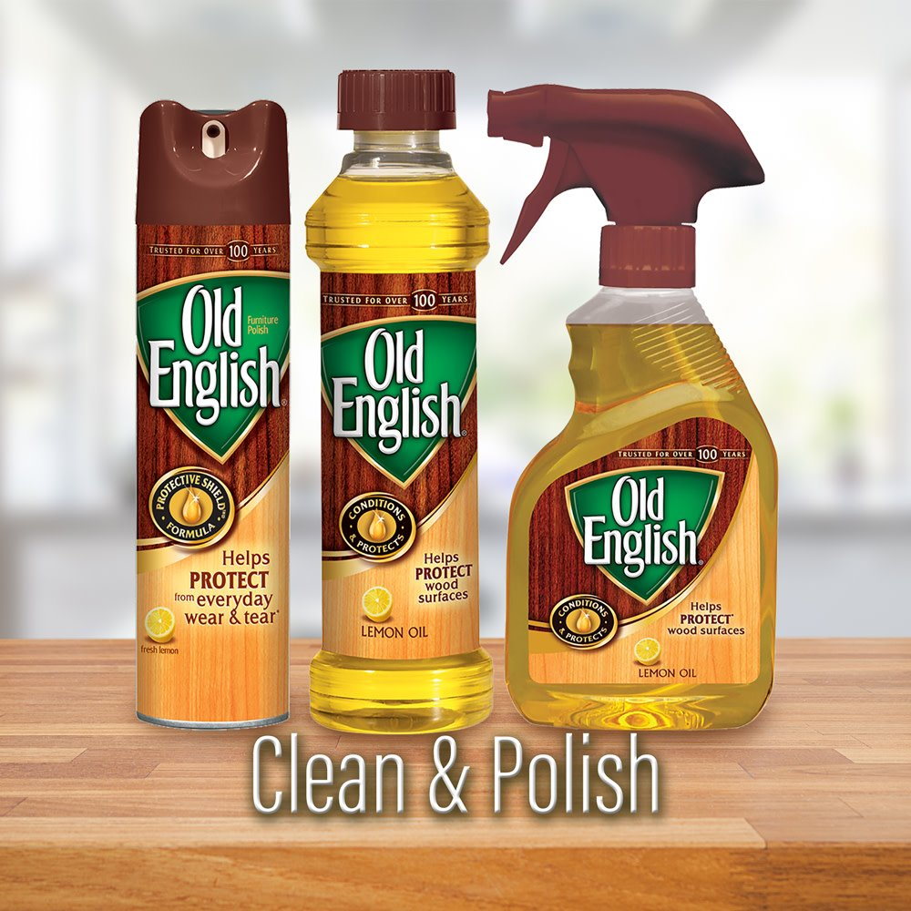 Old English Furniture Polish, Almond 150 oz (12 Cans x 12.5 oz) by Old English (Image #8)
