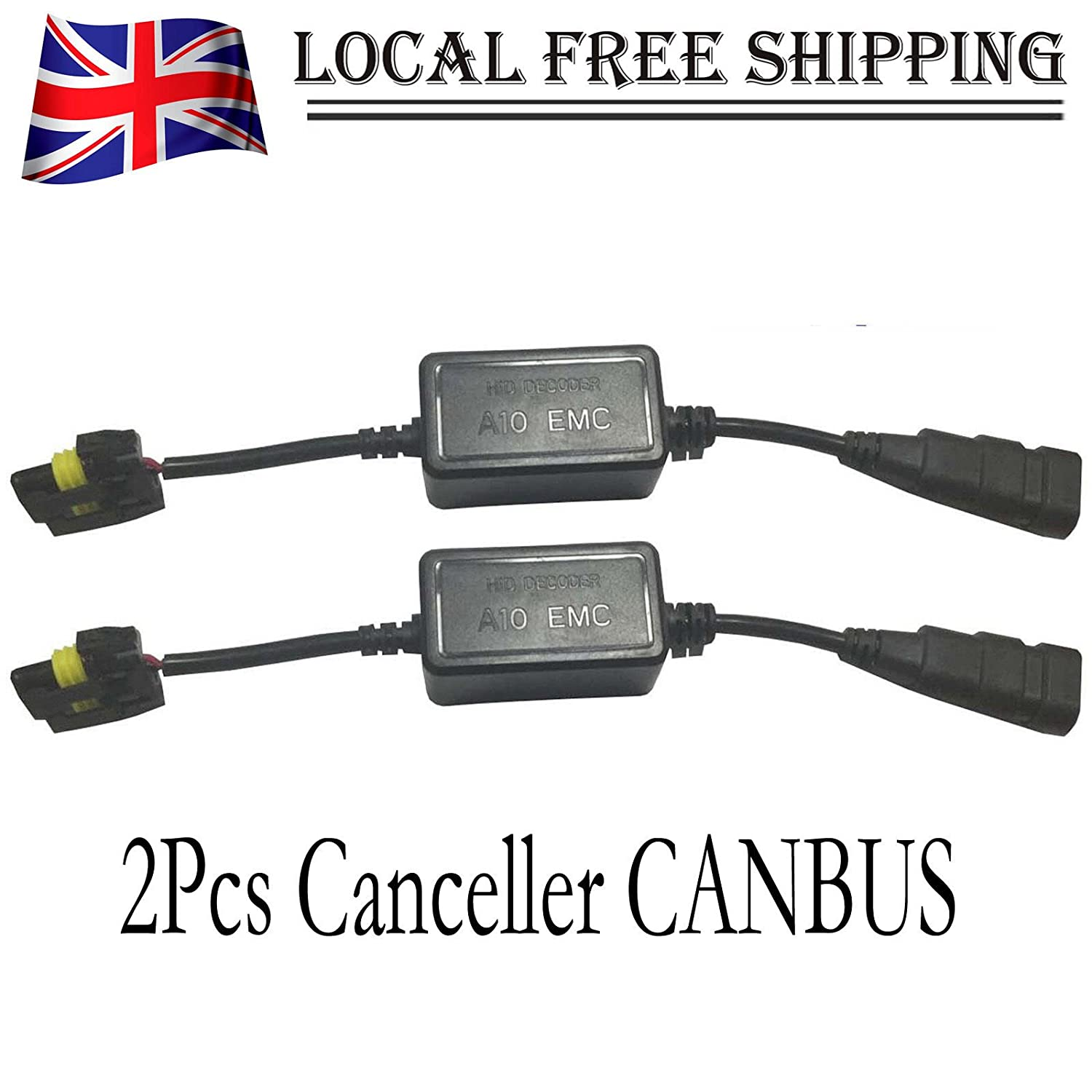 Canbus Error Canceller Decoder HID Xenon Capacitor For H1 H3 H4 H7 H11 9005 9006 Autofather Factory