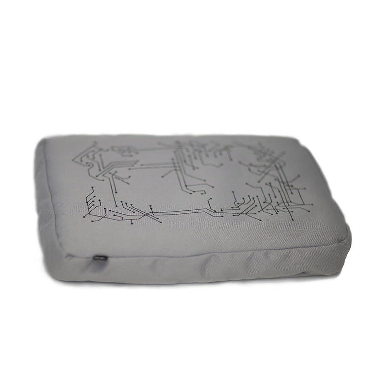 in Silber Bosign Surf Pillow Hitech Laptop Kissen Laptray Notbooktisch Kissen Knietablett f/ür Ihr Laptop