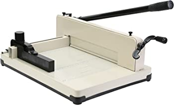 Mophorn Metal Base Wire Range Guillotine Paper Cutter