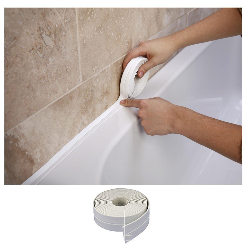 Bath & Wall Sealing Strip 38mm x 3.35m by SupaDec Generic VDTAZ012