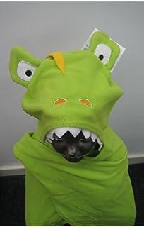 Cuddle Buddy Childrens/Kids Hooded Animal Character Fleece