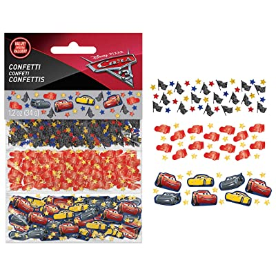 "Disney©""Cars 3"" Value Confetti, Party Favor: Toys & Games"