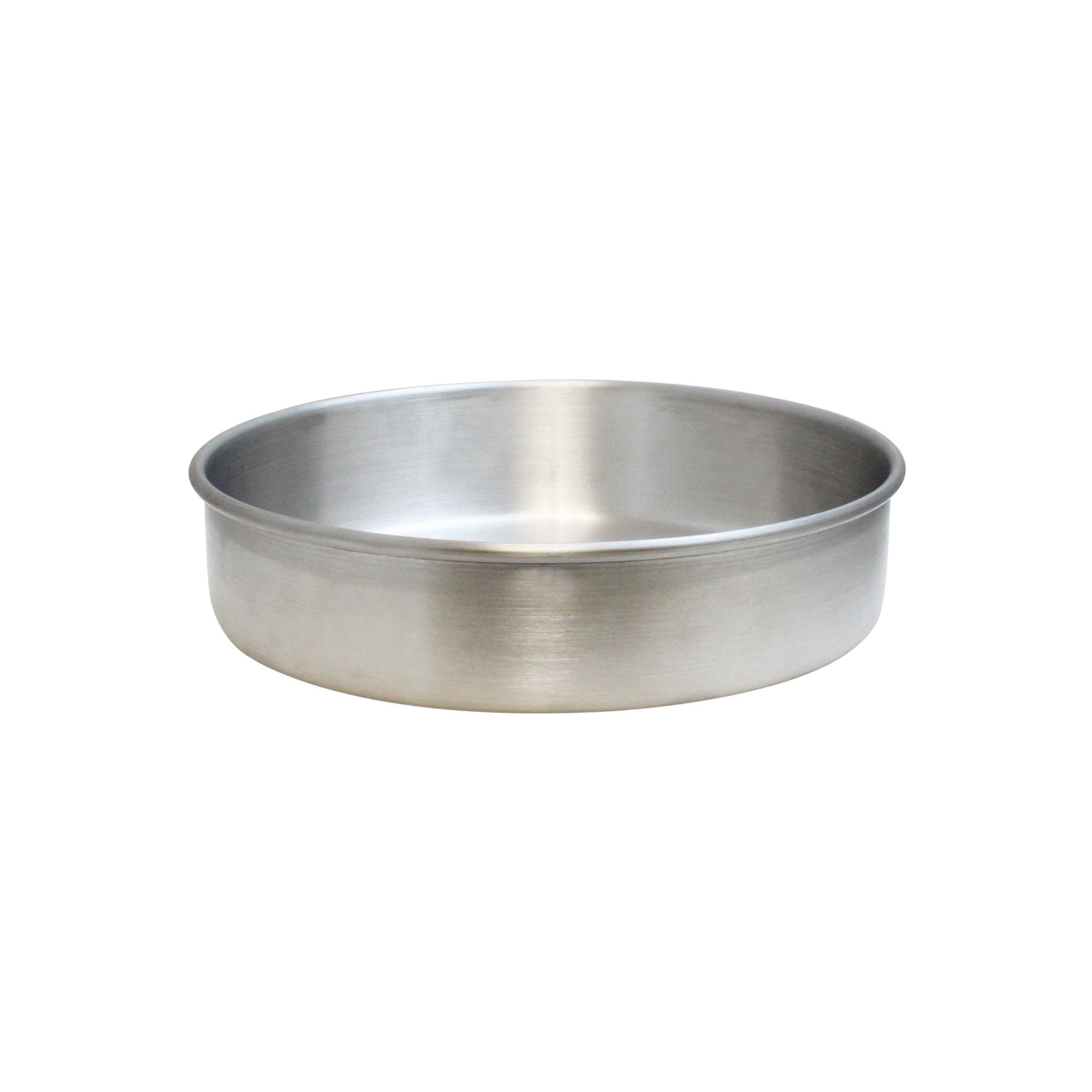 Excellanté 8'' x 2'' Layer Cake Pan, Aluminum, 1.0mm