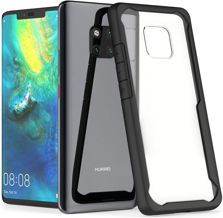 ChoosEU Compatible with Huawei Mate 20 Pro H/ülle Glitzer Silikon Transparent Muster 3D TPU Handyh/ülle Durchsichtig Glitter D/ünn Schutzh/ülle Bumper Sto/ßfest Slim Case Soft Cover Blauer Schmetterling