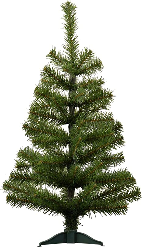 ARTIFICIAL CHRISTMAS TREE 2ft 60cm Needle Pine Mini Tree For Desk Small Spaces