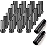 Orion Motor Tech 24-Piece M14x1.5 Lug Nuts Black with Spline Tuner, XL 2 inches Length Conical Aftermarket Wheel Nut, Compatible with Chevy GMC Ford Cadillac Lincoln SAAB Saturn Silverado 1500 Savana