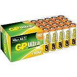 GP Batteries Ultra Alkaline LR6 AA 1.5V Alcalino 1.5V batería no-recargable - Pilas (Alcalino, Cilíndrico, 1,5 V, AA, Color blanco, Amarillo)