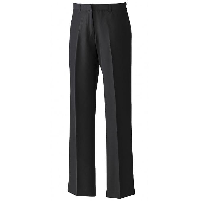 cda28f2c78fa PREMIER - Pantaloni Classici da Lavoro - Donna: Amazon.it: Abbigliamento