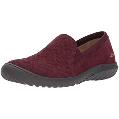 JBU by Jambu Women's Cherry Hill Flat, Wine, 8 M US | Shoes