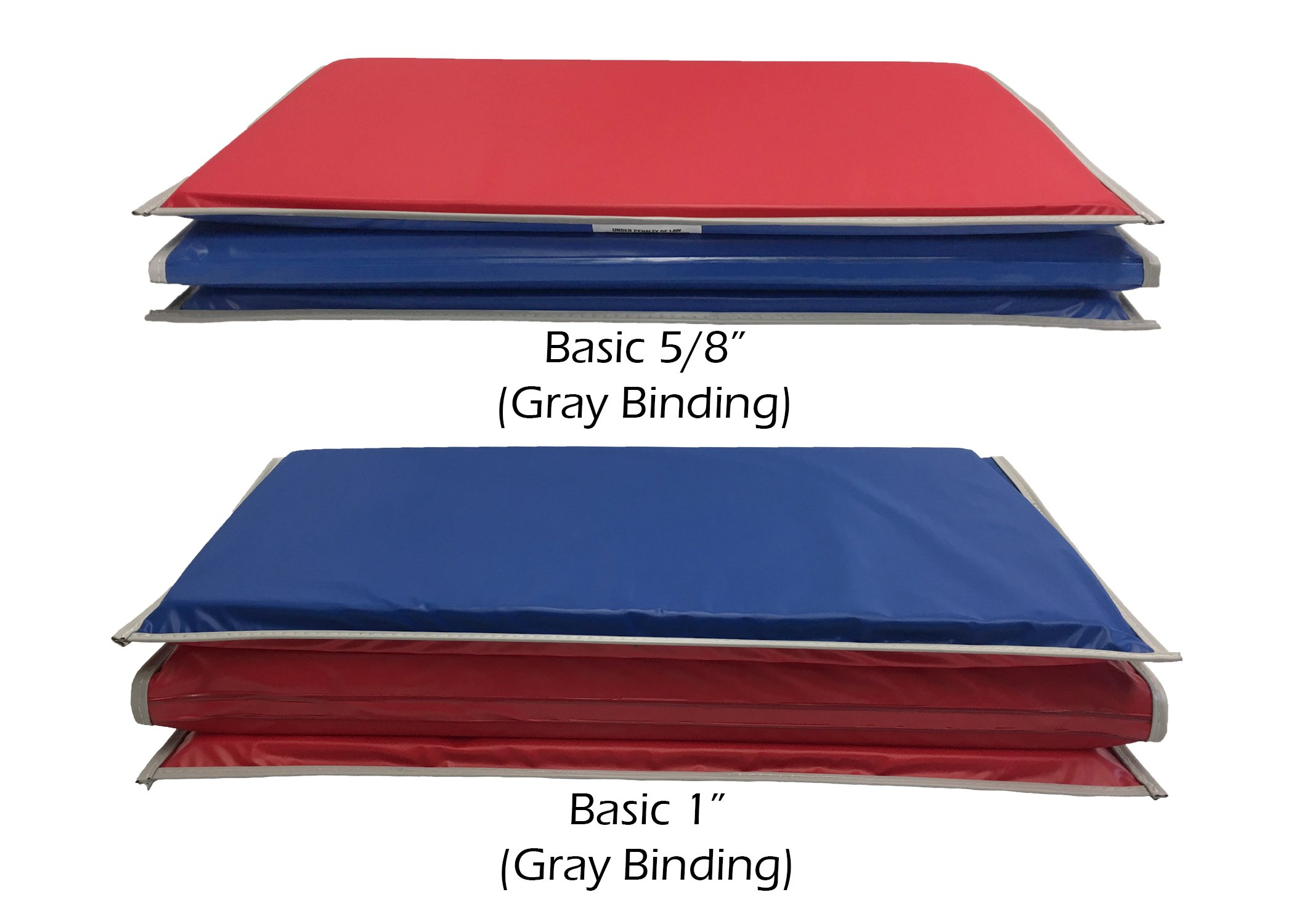 Galleon Kindermat 5 8 Inch Basic Rest Mat 4 Section