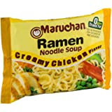 Maruchan Creamy Chicken Flavor Ramen Noodles (Pack of 24)
