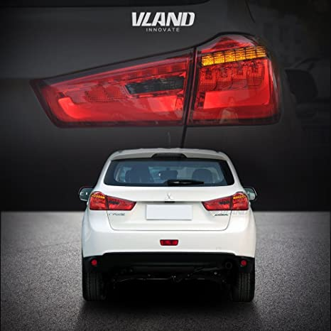 aoedi luz trasera para Mitsubishi ASX/Out Lander 2012 – 2014 LED freno ahumado lente