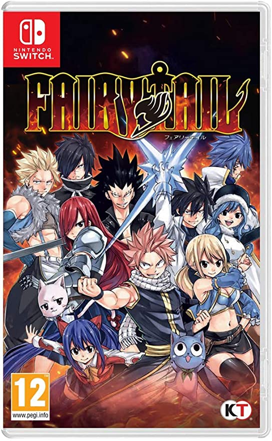 Fairy Tail - Nintendo Switch [Importación inglesa]: Amazon.es ...