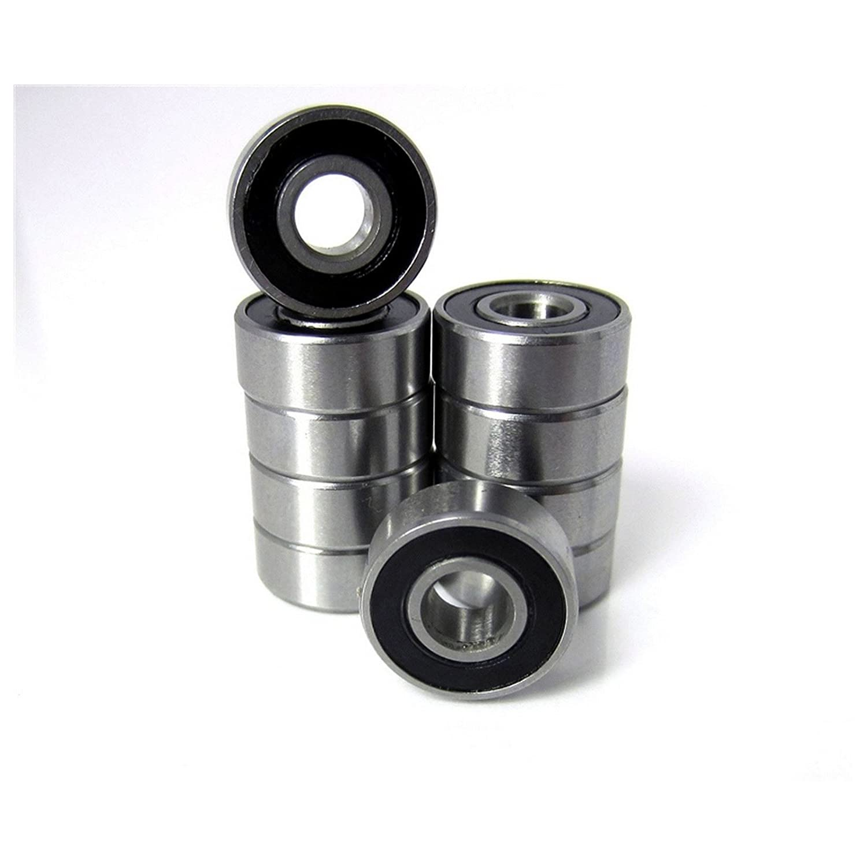 10pcs. 3 16x1 2x49 250 Precision Ball Bearings Chrome Steel ABEC 3 Rubber Seals