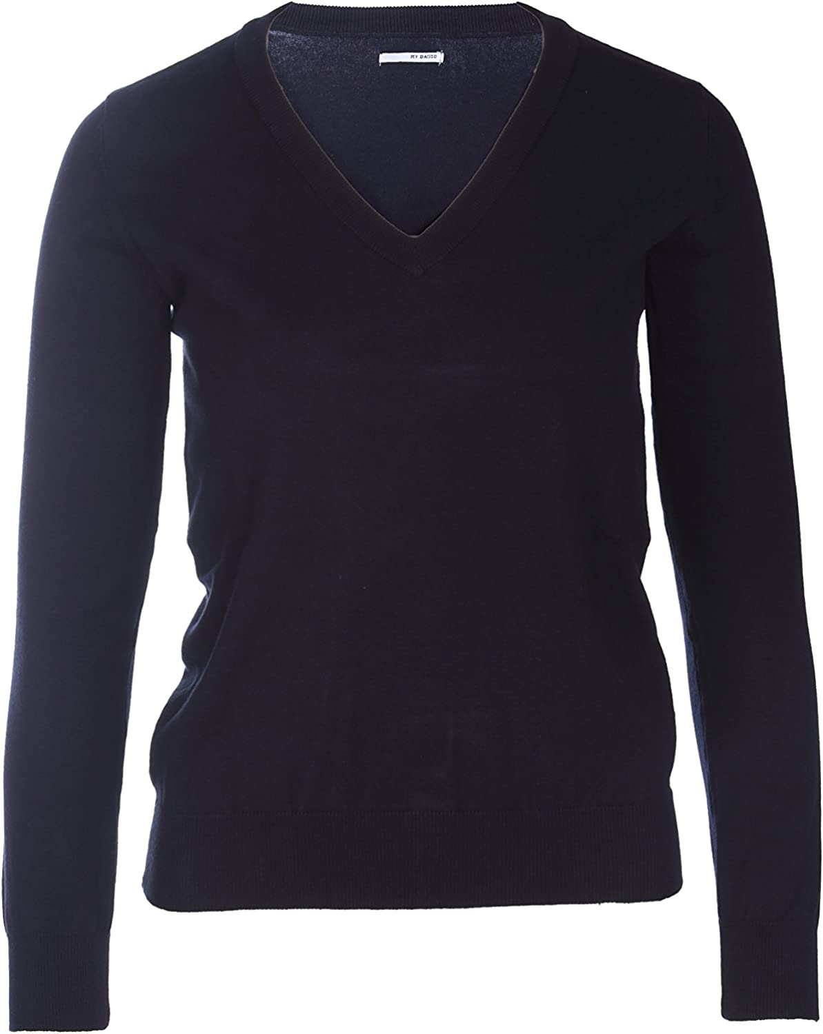 MY BASIC Pullover Cotone Stretch Donna