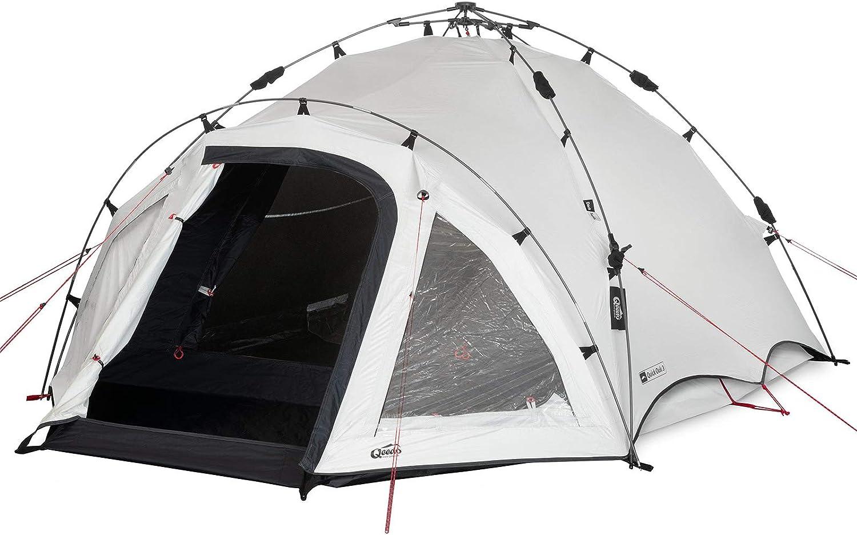 3,4 ou 5 Personnes Qeedo Quick Villa avec Quick-Up-System Tente de Camping familiale