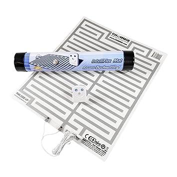 Chummie TC310B Pro Alarm Bed-Side Mojar la cama - Sistema de Tratamiento de Enuresis - para Ni-os y Hombres, Azul