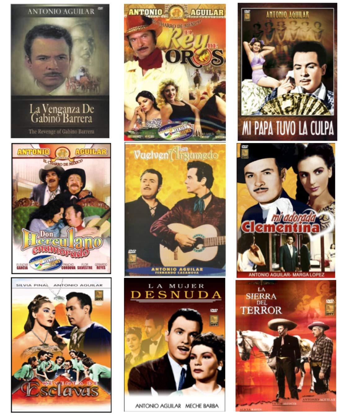 Amazon Com 9 Different Antonio Aguilar Dvd S Antonio Aguilar Movies Tv
