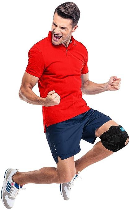 7bc646d8 Knee Brace for Men & Women - Adjustable Kneecap Stabilizers Open Patella  and Meniscus Support,