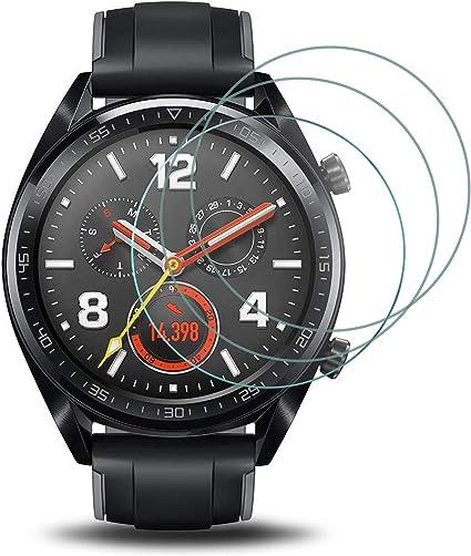 Electro-weideworld [3 Pack] Huawei Watch GT Protector de Pantalla ...