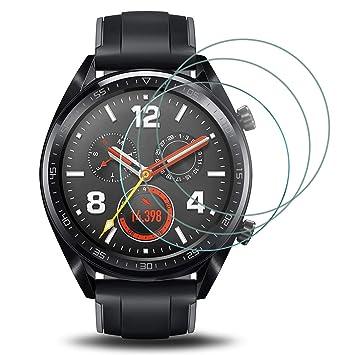 Electro-weideworld [3 Pack Huawei Watch GT Protector de ...