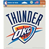 Oklahoma City Thunder Primary Team Logo Die Cut Decal 8 X Colored