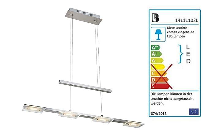 por 12 Livarno Lux® Lámpara colgante 4 x ledes LED L5q34RSjcA